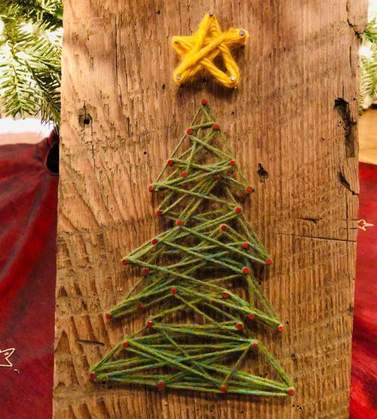 Christmas Yarn Art