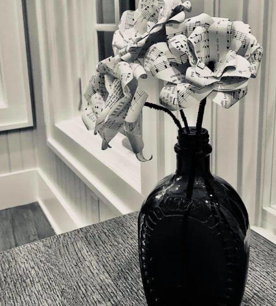 DIY Quarantine Idea - Paper Flowers