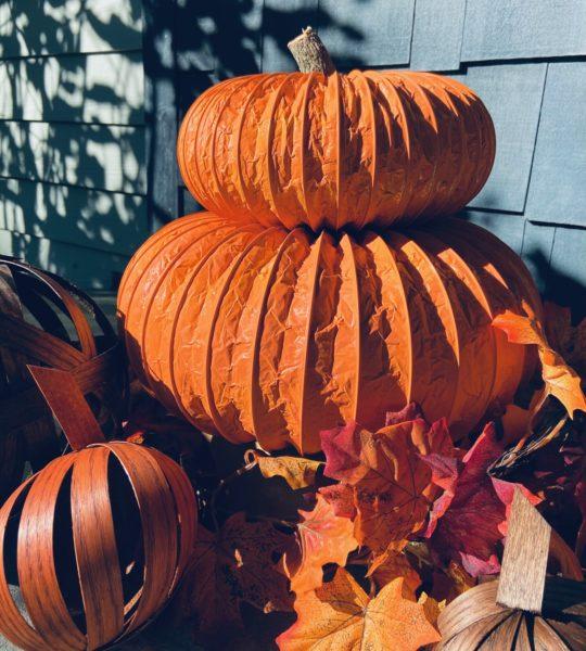 Easy Fall Pumpkins